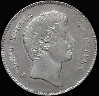 Коронний талер 1829 р. Людвіг Баварія