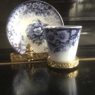 Старинная чайная пара. 19 век Франция