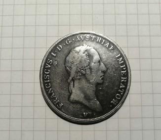 1 скудо 1824 Венеція