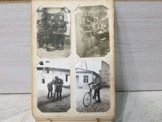 Фотоальбом военного офицера. военные фотографии