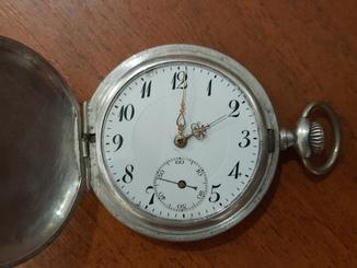 Кишеньковий годинник срібний, 800 проба
