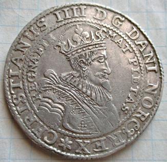 Норвежский талер 1634 года