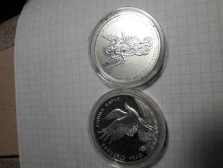 Юбилейні монети України 1і10гривень.
