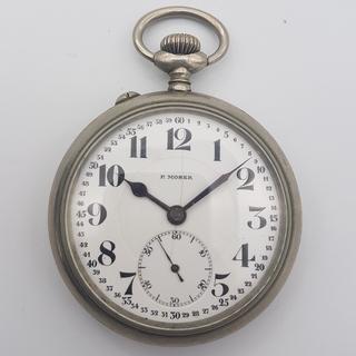 Paul Moser карманные часы на ходу. Механизм Eterna