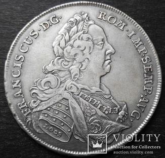 1 Талер 1757 год. Нюрнберг, Священная Римская империя, Серебро
