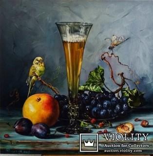 Бокал вина.автор Березина К.
