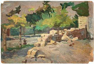 Шовкуненко А.А. (1884-1974). Пейзаж. 1930-40-е гг.