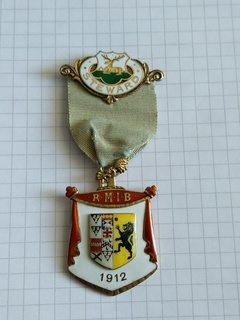 Масонская награда STEWARD. 1912 год. Англия.