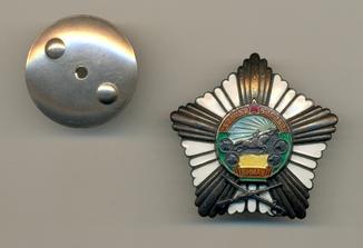 Орден За боевые заслуги № 2478 (серебро)