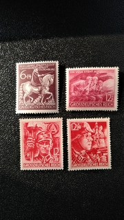 1945 г  годовой набор последних марок Рейха