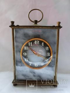 Настольные часы Молния в Мраморе