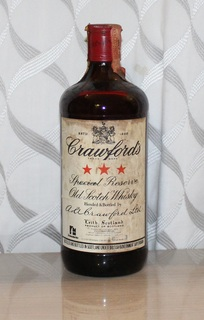 Виски Crawford's Special Reserve - 1970s