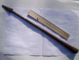 Скифское копье Ангон  . 40 см с граненой втулкой