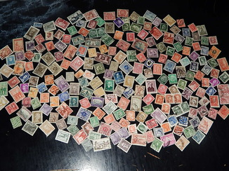 Старинные почтовых марок 228 шт.