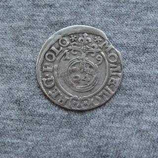 Полторак ( 1/24 талера ) 1619 года. Сиг. ІІІ Ваза.