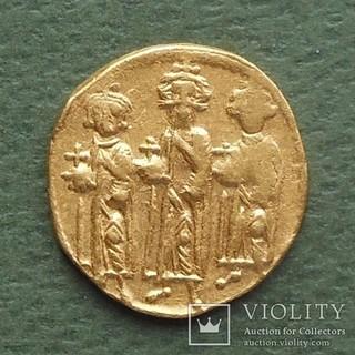 Визания: Ираклий I (610-641) солид