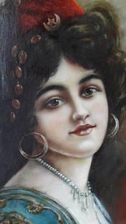 Женский портрет  приблизительно 1850-х годов