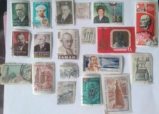 Поштові марки СССР