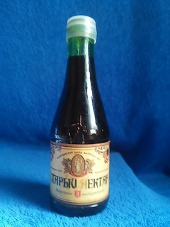 Марочное вино 3 г Старый нектар 0,2 л Инкерманский завод марочных вин гост 7208