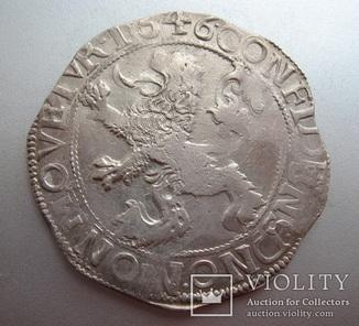 Левковый талер 1646 года. Левендальдер.