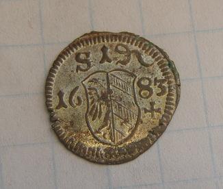 Односторонній пфеніг 1683 р. Нюрнберг