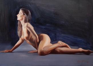 ''NUDE'' (50х70) 2020 Авторская картина