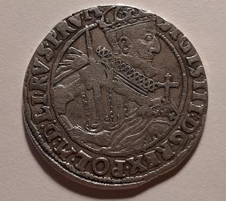 Орт 1623 год. Сигизмунд lll Ваза.