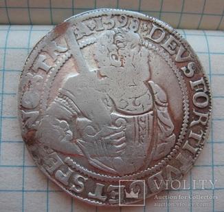 Принцталер 1598 года  пров. Westfriesland
