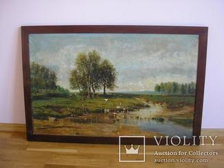 Гасай Картина українського художника 1957 рік 120*80 см полотно олія холст масло