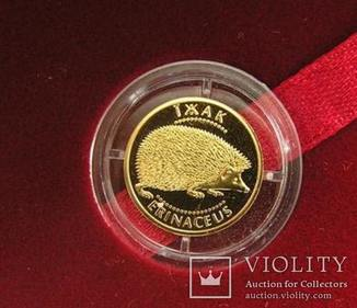 Золото Україна Їжак 2006 Золота монета в люксі