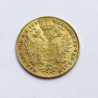 Дукат 1837 года (E). Австро-Венгрия.