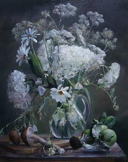 ''Квітковий натюрморт'' 40х50 см; полотно, олія, Півень С.В.
