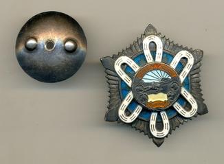 Орден Полярная звезда № 2380   (Уйгурка)