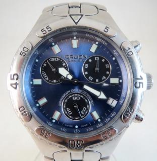 Gruen Swiss. Хронограф ETA G10.211