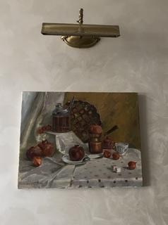 Натюрморт с гранатами. Казановская Т. (2015)