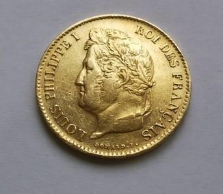 40 франков 1837 Филипп