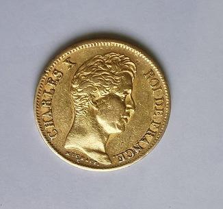 40 франков 1830 Чарльз Х