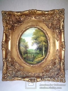 ''Лесной пейзаж''.