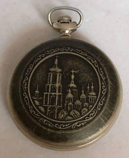 Карманные часы Молния.Владимир