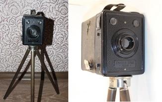 Kodak BOX 620 + Штатив