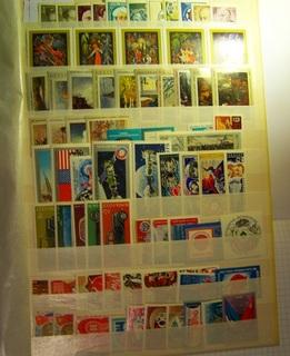 Годовой полный набор марок ссср 1975 г