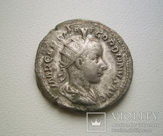 Император Гордиан III, антониниан *CONCORDIA