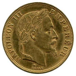 50 Франков 1866г. Франция