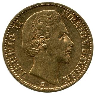 20 Марок 1872г. Бавария