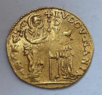 Цехин 1789-97гг. Людовик Манин