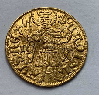 Голдгульден 1458г. Маттиам