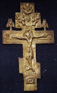 Крест бронзовый