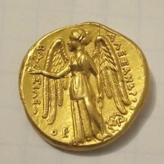 Статер, Македония, 320-305гг. до н.э., чекан Вавилона