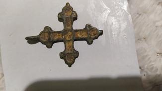 Хрестик КР з емалями