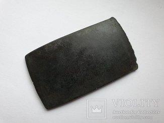 Плоский бронзовый топор ( 66 гр. ) начало 2 тыс. до н.э.